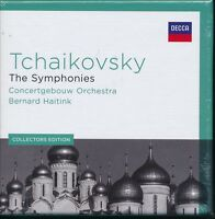 Bernard Haitink Tchaikovsky The Symphonies box CD NEW Concertgebouw Collectors