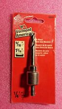 """Vermont American 18501, Hole Saw Mandrel for 9/16"""" thru 1-3/16"""" Hole Saws"""