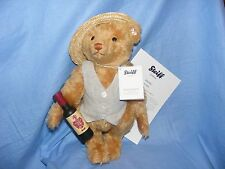 Steiff Teddy Bear Picnic Papa With Wine Bottle Limited Edition 021473 NEW