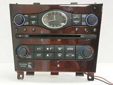 *READ* 10-2013 Infiniti G37 Heater AC Temperature Control Clock OEM 25810 1CA0B