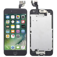"LCD Touch Screen Digitizer Assembly +Home Button +Camera For iPhone 6 4.7"" Black"