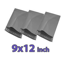 9x12 500X Grey Mailing Bags Strong Poly Postal Postage Post Mail Self Seal S247