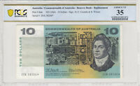1966 Coombs/Wilson $10 STAR Banknote PCGS 35 Choice Very Fine