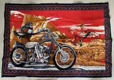 David Mann Harley Davidson Easy Rider Vintage Flag Buco Rare Used