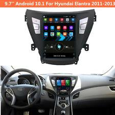 For Hyundai Elantra 2011-2013 Android 10.1 Car Stereo Radio GPS Navigation 9.7''