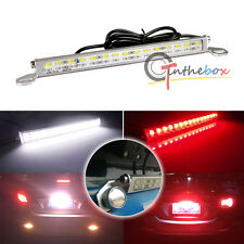 Universal White/Red 30-SMD LED Lamp For License Plate Backup Brake or Rear Fog