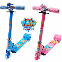 PAW PATROL FOLDABLE DESIGN SCOOTER KID PUSH KICK 3 WHEEL CAR RIDE ON TOY