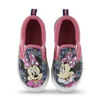 NEW  Disney Toddler Girls Mickey and Minnie Mouse Canvas Shoes size 6 7 8 9 10
