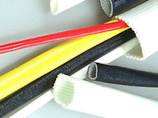 Hilec 497F Acrylic Coated Heavy Wall Fiberglass Sleeving - Natural - #5 x 500 ft