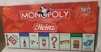 USAopoly Monopoly Heinz Collector's Edition Board Game 2002 INCOMPLETE