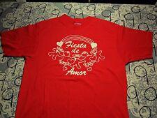 Large- Love Fest Fiesta De Amor Single Stitch Vintage Hanes Brand T- Shirt