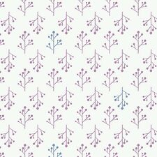 Ethereal Floral Twigs Orchid #4-2  Camelot Quilt Fabric by the 1/2 yd
