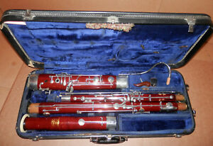 Schreiber & Sohne Professional Model Bassoon !Fox Bocal Included! NoReserve!