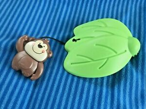 Fisher Price Luv U Zoo Jumperoo Hanging Monkey/Leaf Toy Replacement Part
