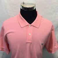 Vineyard Vines By Shep & Ian Men's Short Sleeve Polo Shirt Pink XXL K10