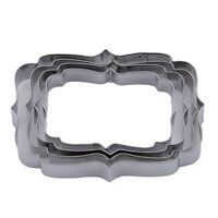 Stainless Steel Biscuit Cookie Cake Pastry Fondant Mold Mould Cutter D