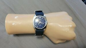 Rare Vintage Seiko 66-8070 (Blue Dial) 17 Jewels Manual Wind Men's Watch