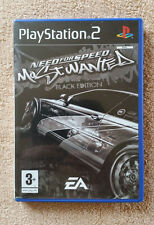 Need for speed most wanted Black Edition PS2 / envoi gratuit !
