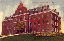 ST. MARY'S HOSPITAL, WAUSAU, WI 1912 am working at the paper mill in Brokaw