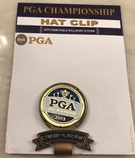 2013 PGA Championship Hat Clip - Golf With Removable Ballmarker Jason Dufner