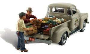 Woodland Scenics ~ N Scale Vehicle & People ~ Paul's Fresh Produce ~ AS5346