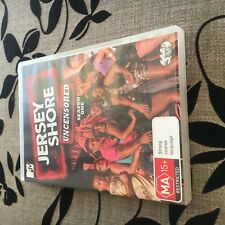MTV JERSEY SHORE UNCENSORED SEASON ONE DVD.  ONLY DISC 1 AND 2 OF 3 DISCS