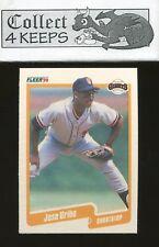 1990 Fleer #74 Jose Uribe (San Francisco Giants) Pack Fresh