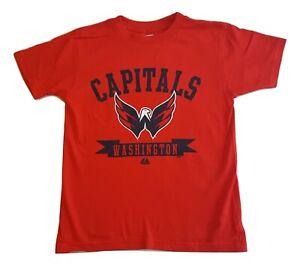 NHL Washington Capitals Shirt Tape To Tape Tee Youth Sizes T-Shirt