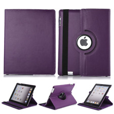 360 Rotating PU Leather Case Smart Stand Cover for iPad