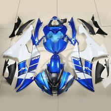 Blue White ABS Fairing Bodywork Kit For YAMAHA YZF R6 YZF-R6 2008-2016 09 11 23A