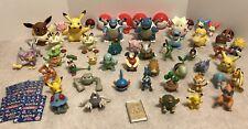 Huge Pokemon Toy Lot 57 pieces Figurines Pokeballs Gold Bar 1998-2011 Tomy Jakks