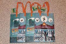 4 Trader Joe's Chicago Reusable 6 Gal Shopping Grocery Tote Bag PolypropyleneNWT