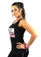 Train Insane Running Sexy Ladies Women Racerback Gym Yoga Workout Vest Tank Top