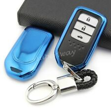 For Honda Civic CR-V HR-V Accord Smart Key Fob Chain Ring Cover Case Accessories