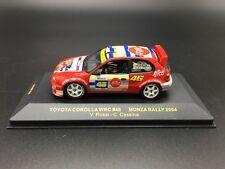 1:43 IXO RAM 164 TOYOTA COTOLLA WRC VALENTINO ROSSI MONZA RALLY SHOW 2004 NEW