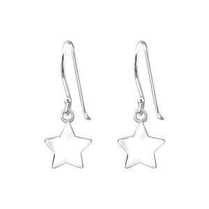 NEW! Sterling Silver Star Drop Earrings