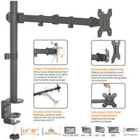 """Duramex Single Arm Computer LCD LED Monitor Desk stand Mount for UPTO 32"""" 80-162"""