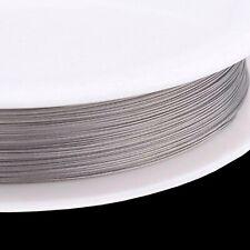 Schmuckdraht Juwelierdraht silber 0,3 mm DÜNN 3 Meter für Ketten Meterware DIY