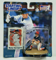 NOMAR GARCIAPARRA - Starting Lineup MLB SLU 2000 Figure & Card - BOSTON RED SOX