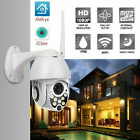 1080P HD WIFI IP Camera Wireless Outdoor CCTV Smart Home Security IR Cam 2MP US