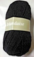 10 pelotes laine irlandaise couleur:  noire lot 5020 - fabriqué en France