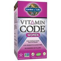 Garden of Life Multivitamin for Women - Vitamin Code Women's Raw 120 Count