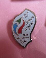 2006 KLAGENFURT AUSTRIA WINTER OLYMPICS  BID PIN BADGE