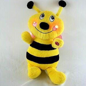 "Dan Dee Musical Singing Bumble Bee ""Sugar Sugar"" 18"" Plush Lights Up"