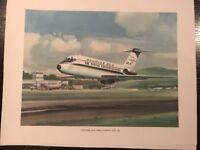 Douglas DC9 Military Jet Transport - Rare Vintage R.G. Smith 1965 Print