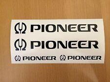 PIONEER Aufkleber Set Tuning Anlage Bass & Hifi Endstufe NEU WOW TOP Sticker