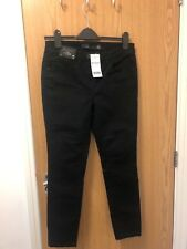 Ladies Next black skinny jeans NEW size 10 Petite