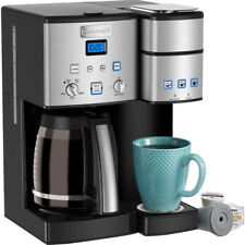 Cuisinart 12 Cup Coffeemaker and Single Serve Brewer Coffee Maker SS-15FR
