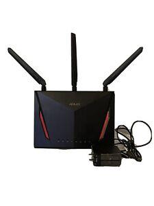 ASUS AC2900 Dual Band Gigabit WiFi Gaming Router - Black (RT-AC86U)
