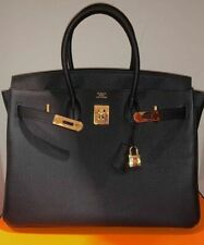 ❅❆❇❈❉❅❆❇❈❉❅❆❇❈❉Hermes Birkin 35 Black Togo Bag With Gold Hardware100% authentic